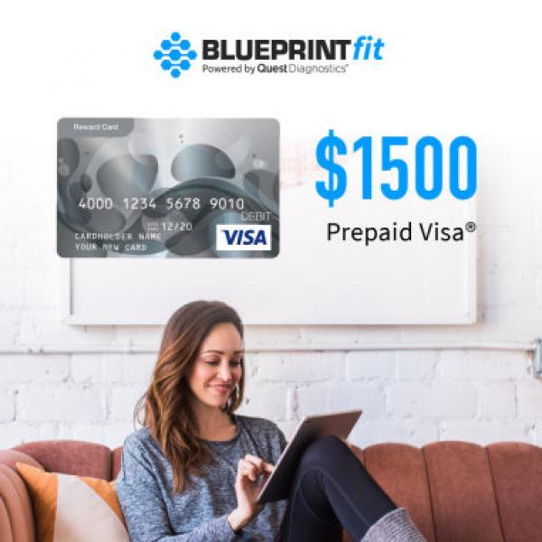 BlueprintFit: Win a $1,500 Visa Gift Card