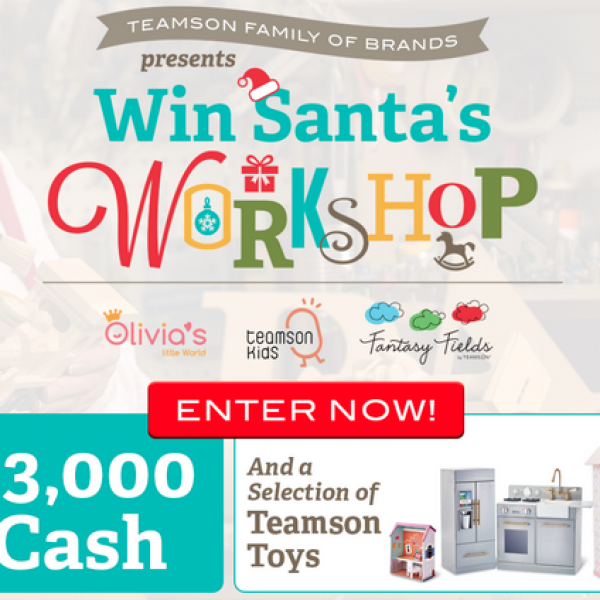 Teamson: Win $3,000 and a Selection of Toys