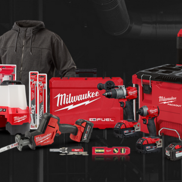 Milwaukee Tools: Win a $1700 Milwaukee Tools Prize Pack