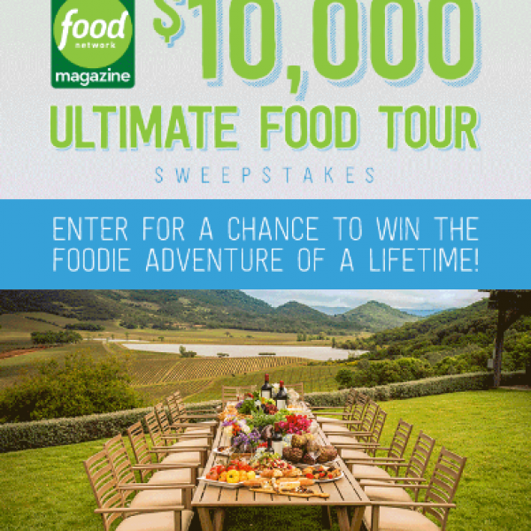 Food Network: Win $10,000