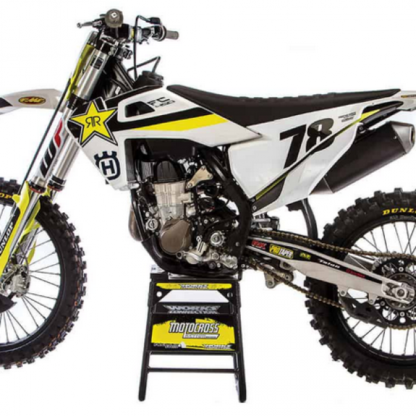 Rockstar: Win a 2019 Husqvarna FC450 Dirt Bike