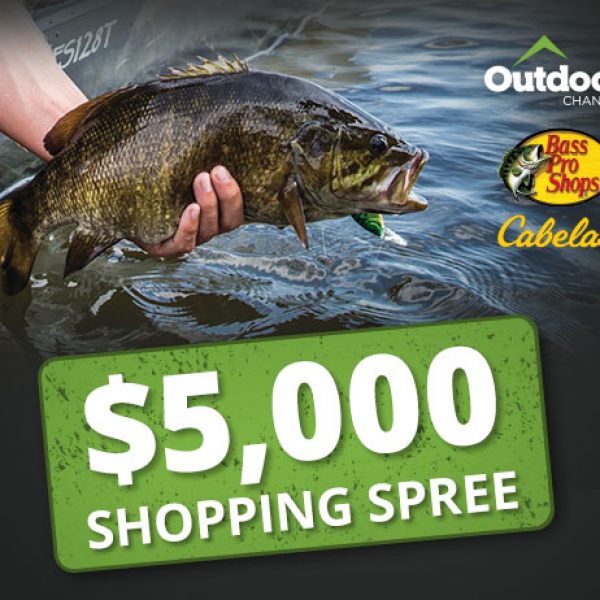Bass Pro Shop: Win a $5,000 Shopping Spree