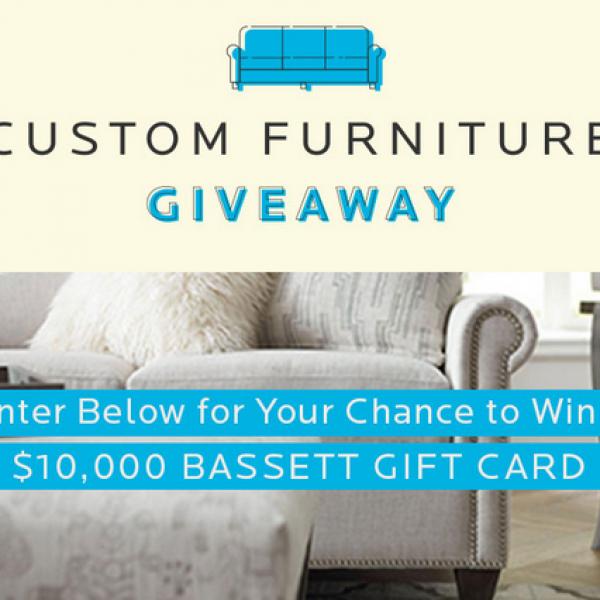 Bassett Furniture: Win $10,000 worth of New Furniture
