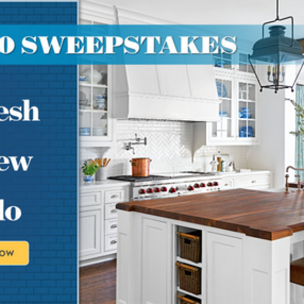 Expired! Better Homes and Gardens: Win $15,000