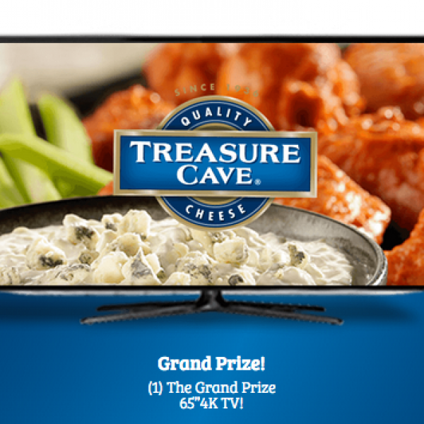 "Saputo Cheese: Win a 65"" LED Smart 4K TV and more"