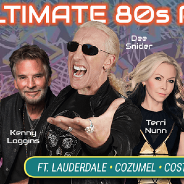 The 80s Cruise: Win a 7 Night Caribbean Cruise