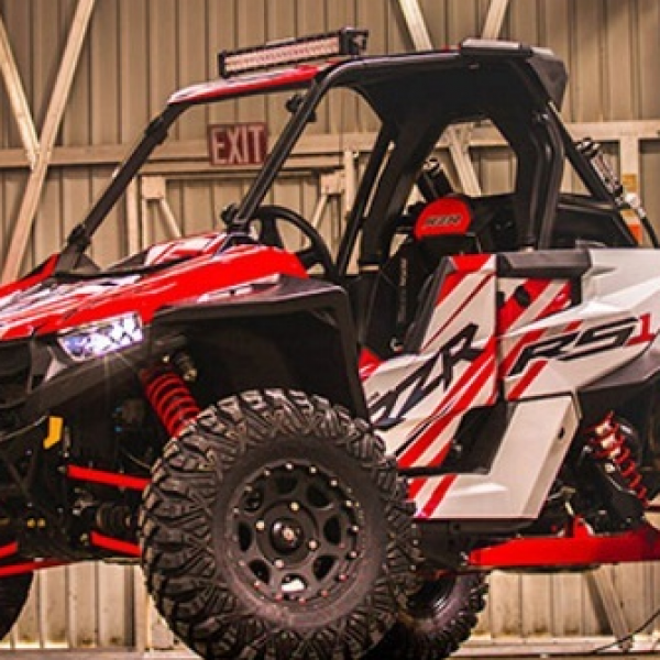 Polaris: Win an accessorized Polaris RZR RS Utility Vehicle worth $18,000