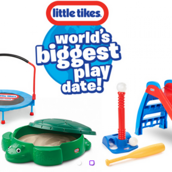 Apple & Eve: Win a $5,000 worth of Little Tikes Toys and a Year Supply of Juice