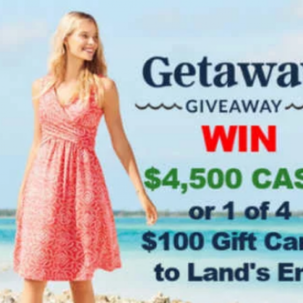 Land's End: Win $4,500 and $100 Gift Cards
