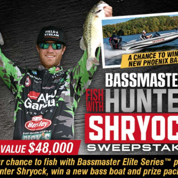 Bassmaster: Win a New Phoenix Bass Boat, Fishing Trip and a Prize Pack