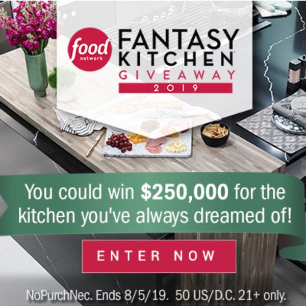 Food Network Fantasy Kitchen: Win $250,000