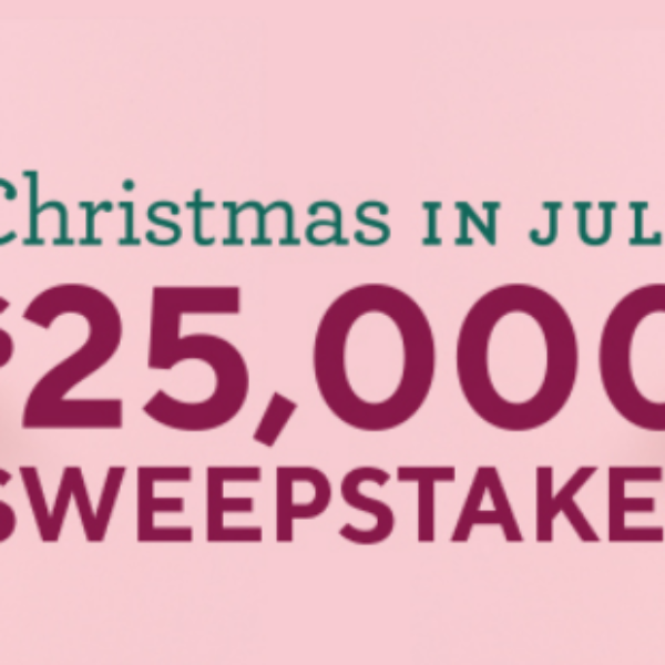 QVC Christmas In July: Win $25,000
