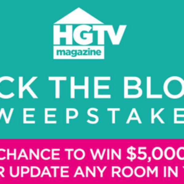 HGTV Magazine: Win $5,000