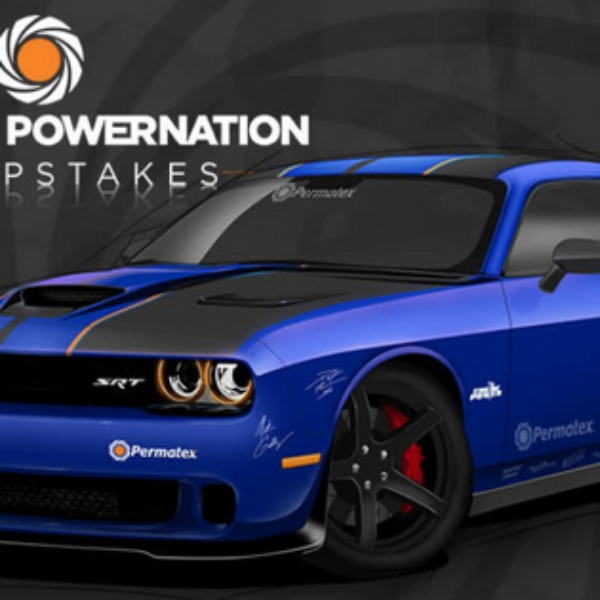 Powernation: Win a 2019 Dodge Challenger or $15,000