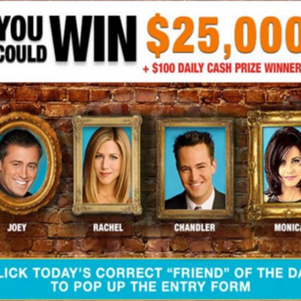 Friends on TBS: Win $25,000