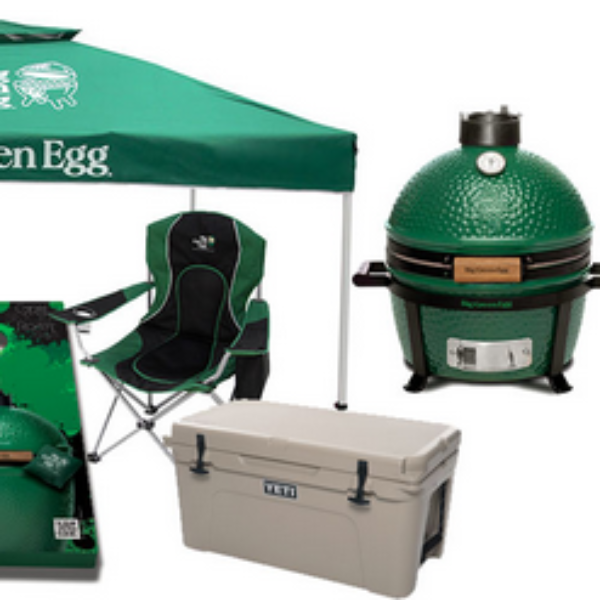 Big Green Egg: Win a MiniMax Big Green Egg grill, a food subscription including steaks, chicken, and other grilling essentials, a cooler, and more