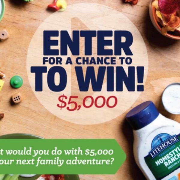 Litehouse Foods: Win $5,000