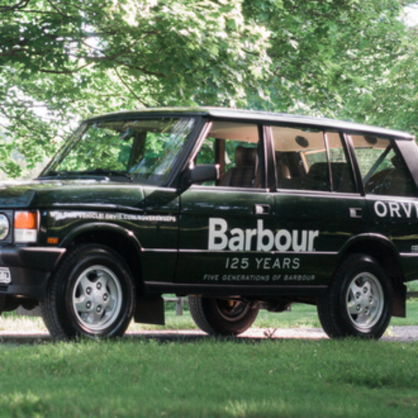 Orvis: Win a fully restored 1995 Range Rover worth $125,000