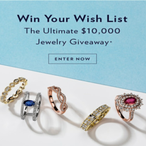 Expired! Blue Nile: Win a $10,000 Jewelry Shopping Spree
