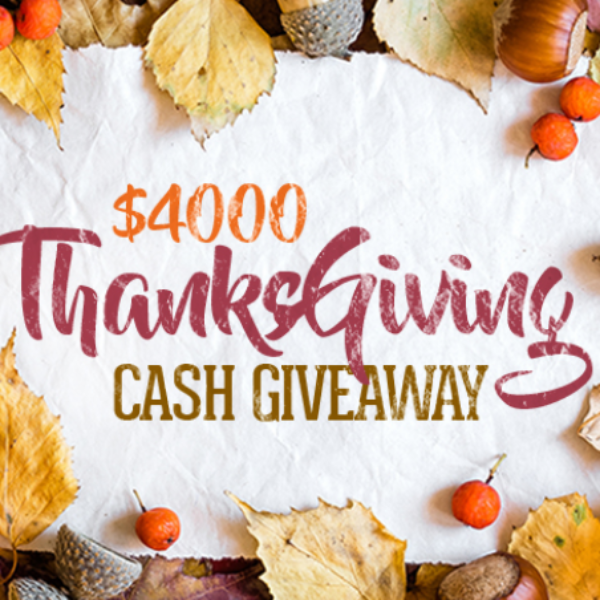Expired! Digital Ivy Thanksgiving Cash Giveaway: Win $4,000