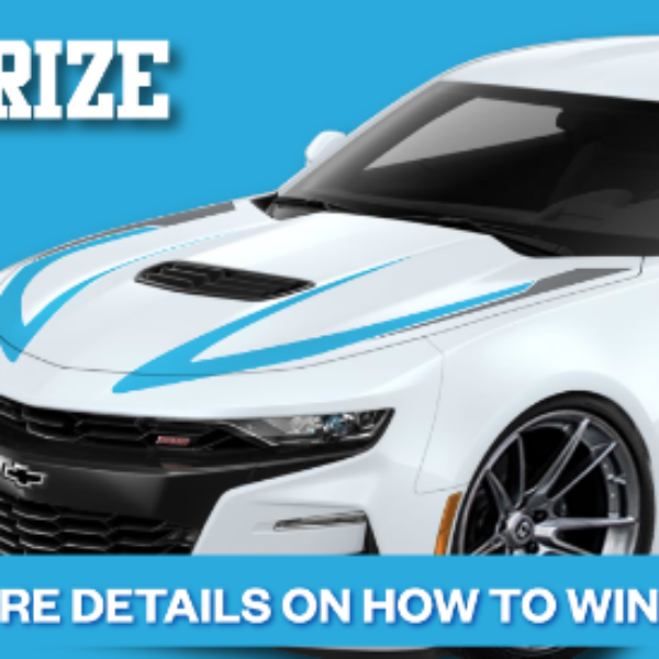 Expired! Richard Petty: Win a 2019 Chevrolet Camaro SS Custom Built by Petty's Garage