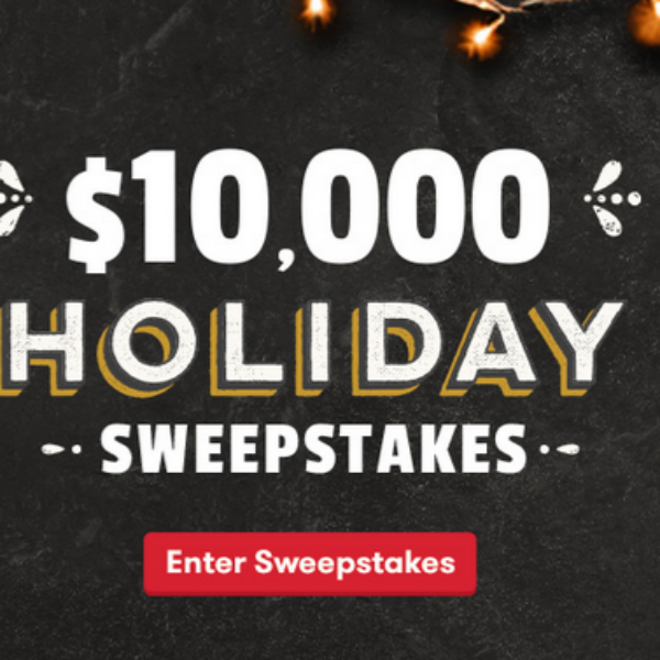 Expired! Frito-Lay Holiday Sweepstakes: Win $10,000