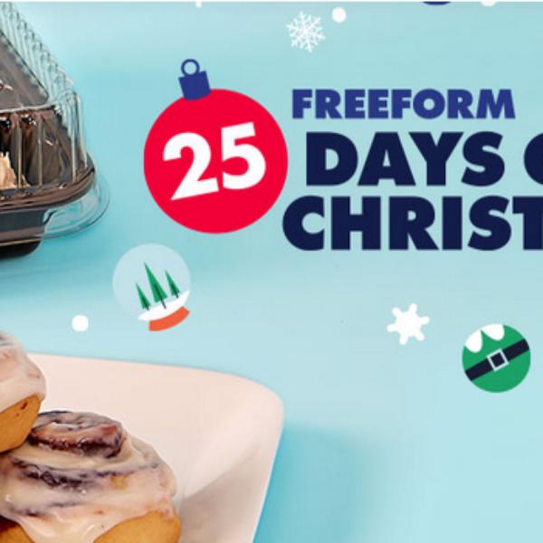 Expired! Cinnabon 25 Days of Christmas: Win $25,000 cash