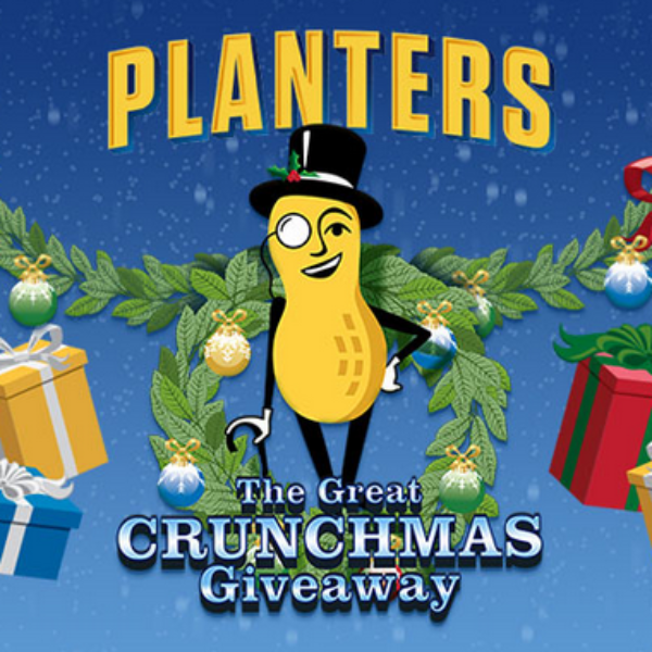 Expired! Planters Great Crunchmas Giveaway: Win $5,000