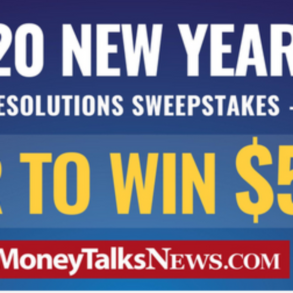 Expired! Money Talks News New Year's Resolutions: Win $5,000