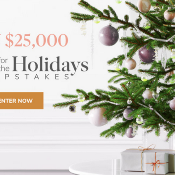 Expired! Martha Stewart Home For The Holidays: Win $25,000