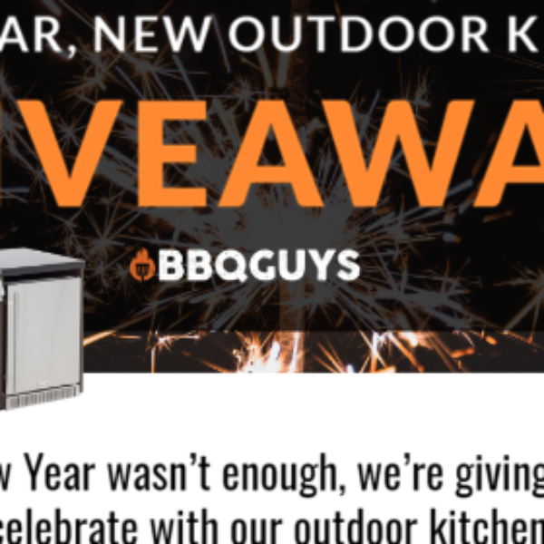 Expired! BBQ Guys: Win a Blaze BBQ Island outdoor kitchen valued at $9,700