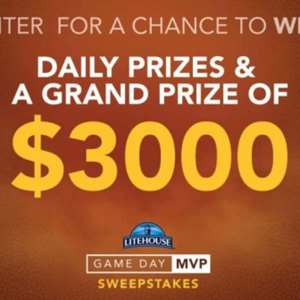 Litehouse Foods: Win $3,000, a 65″, Yeti Coolers, and more!