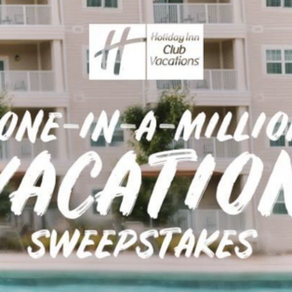 Holiday Inn: Win $5,000 and one million IHG Rewards Points