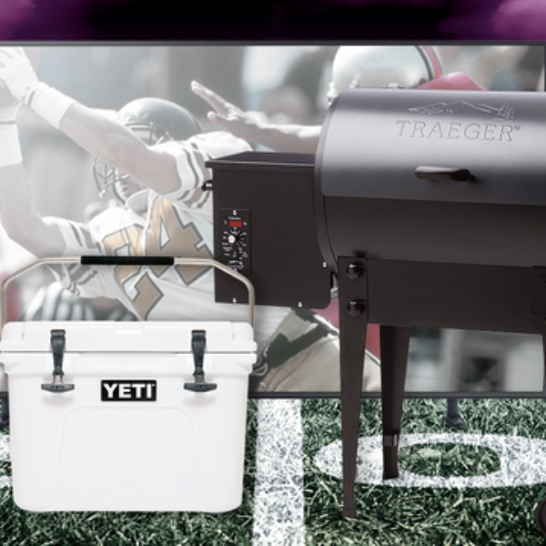 Mountain America: Win a Samsung 65″ TV, a Yeti Cooler, and a Traeger Grill