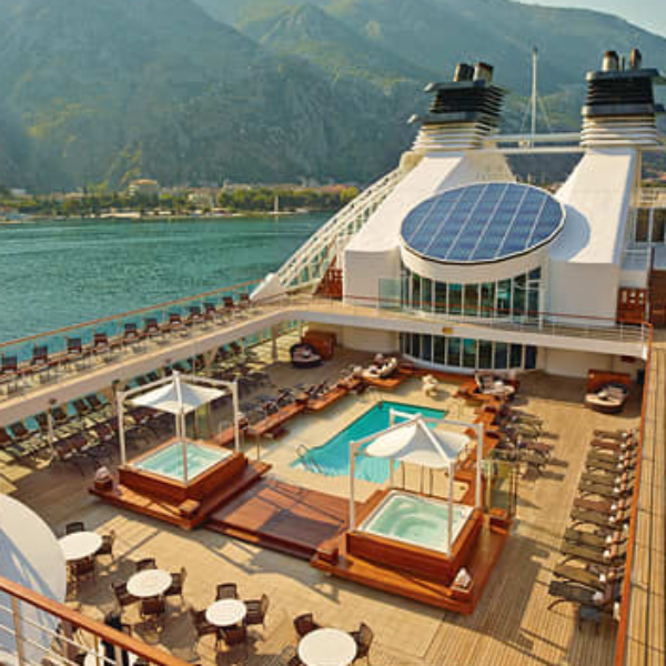 Seabourn: Win a $10,000 7 day luxury Cruise for 2