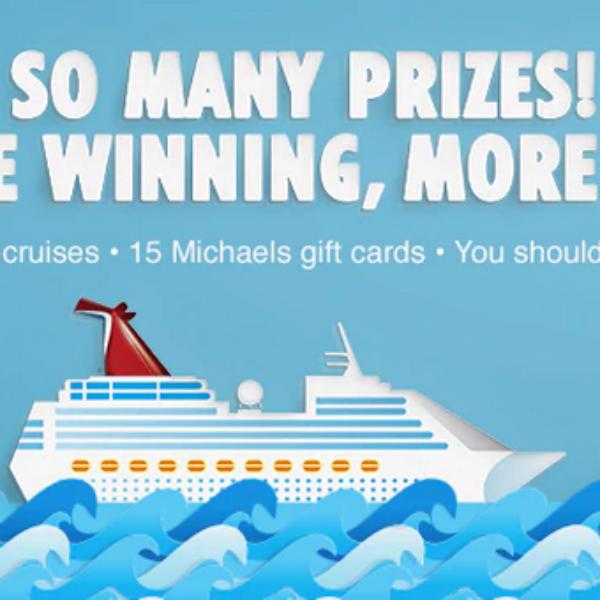 Carnival Cruise: Win a $1,500 Carnival Cruise Gift Card