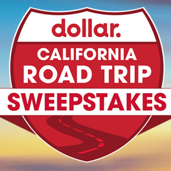Dollar Car Rental: Win $5,000 cash and a Road Trip for Four