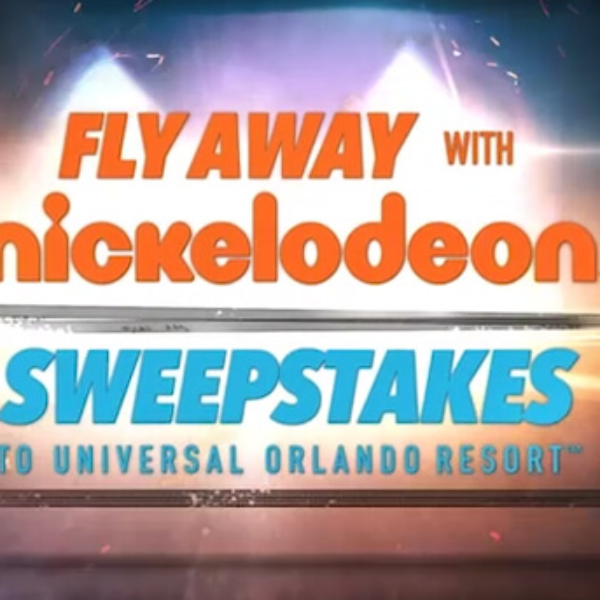 Nickelodeon: Win $1,000 and a trip for 4 to Universal Orlando Resort in Orlando, FL