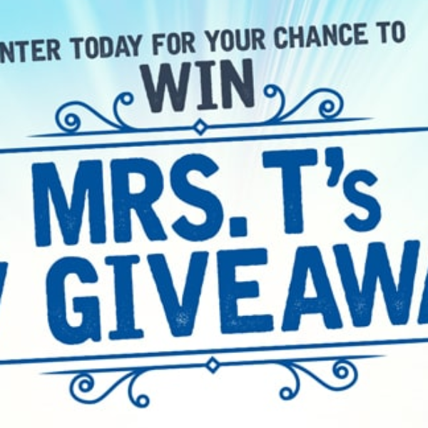 Mrs. T's Pierogies: Win $1,500 Visa gift card and a year's supply of Mrs. T's Pierogies