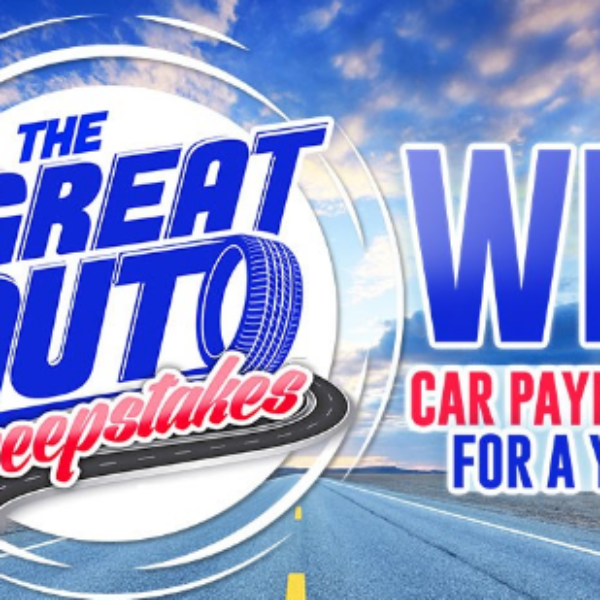 Great Auto: Win $6,600 to Cover a Car Payment for a Year