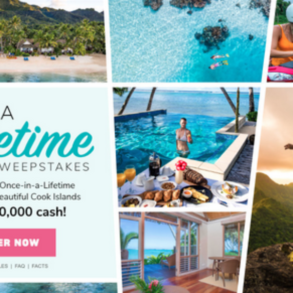 Martha Stewart: Win $10,000 and a Trip for 2 to the Cook Islands