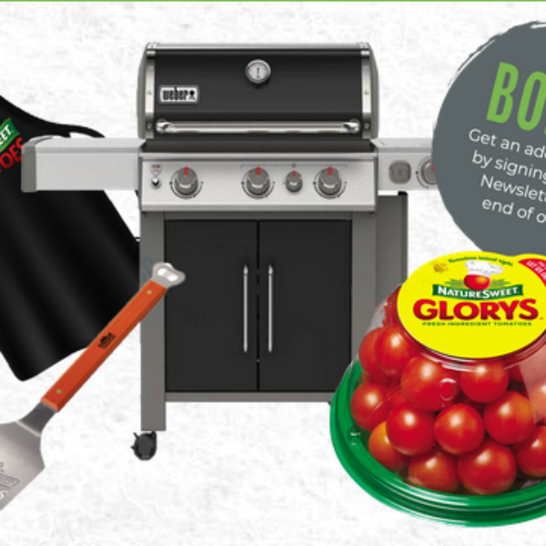 Naturesweet: Win a Weber Genesis II Series E335 Gas Grill, 5-piece BBQ set and More