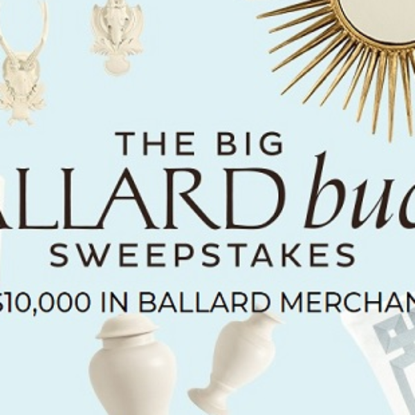 Ballard Designs: Win $10,000 in Ballard home furnishings and More