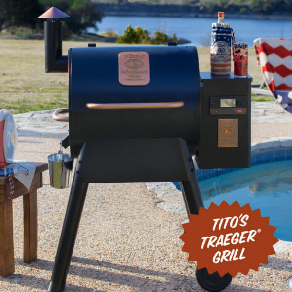 Tito's: Win a Tito's Traeger Grill and More