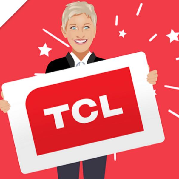 Expired! Ellen DeGeneres: Win a 65″ TCL Roku TV