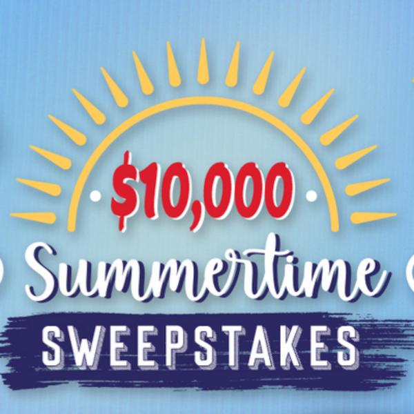 Tasty Rewards Summertime: Win $10,000