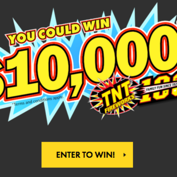 TNT Fireworks: Win $10,000