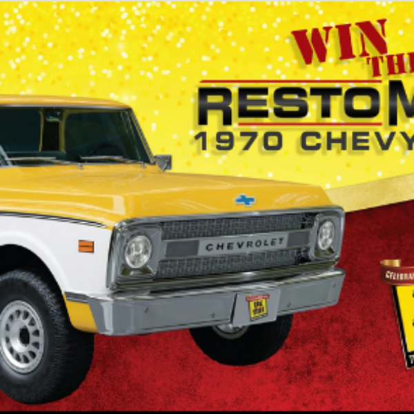 AutoZone: Win a Restored 1970 Chevy C10 Truck