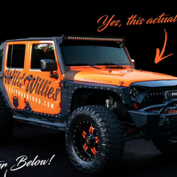 Wild Willies: Win a Jeep Wrangler Unlimited