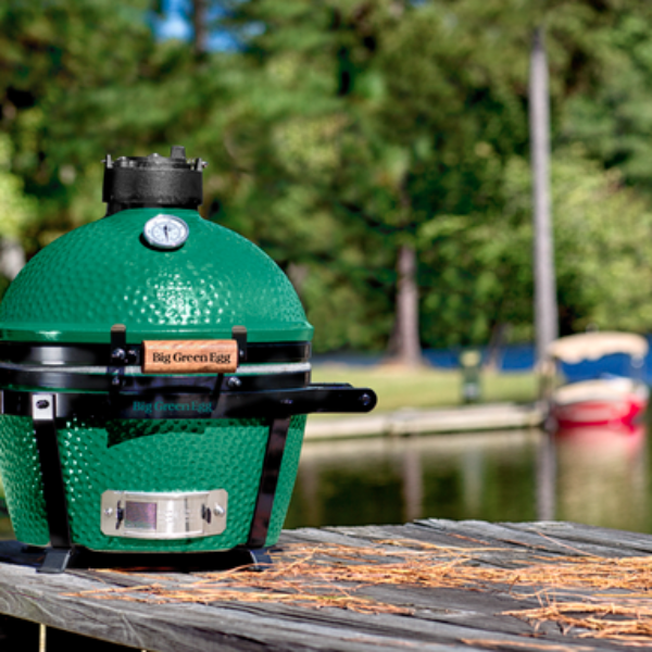 Stonyfield: Win a Big Green Egg MiniMax Grill and Nest Package